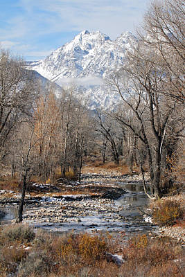 Photograph - River In Grand Tetons by Pierre Leclerc Photography