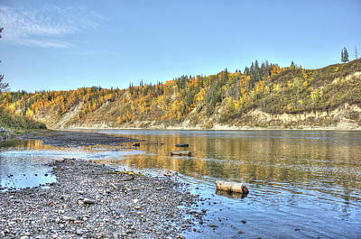 Photograph - River In The Fall by Jim Sauchyn