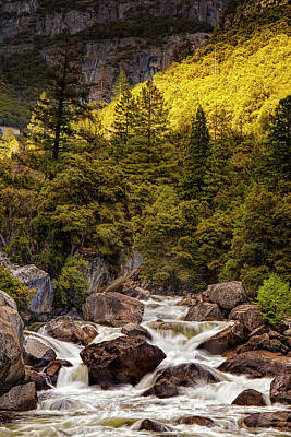 Photograph - River In The Mountains by Andrew Soundarajan