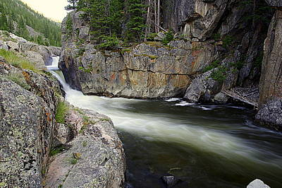 Photograph - River In The Rockies by Matt Helm