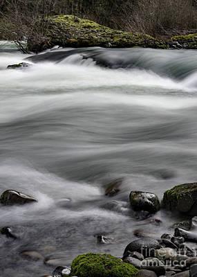 River In Winter Art Print by Zach Deets