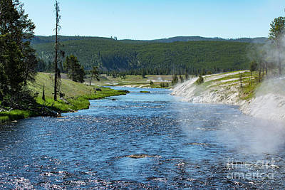 Photograph - River In Yellowstone by Eric Killian