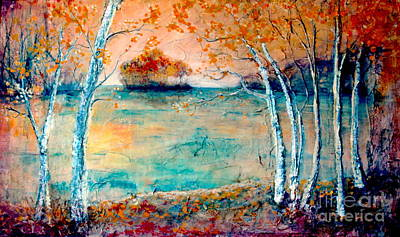 Painting - River Island by Melanie Stanton