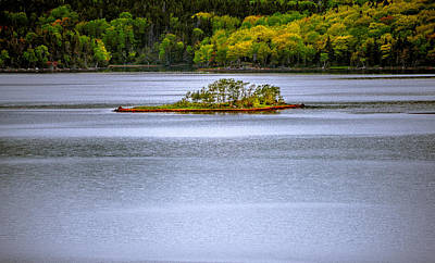 Photograph - River Island  by Patrick Boening