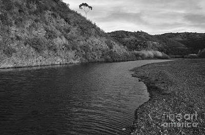 Monochrome Photograph - River Journey by Angelo DeVal