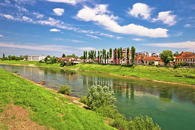 Photograph - River Kupa In Town Of Karlovac by Brch Photography