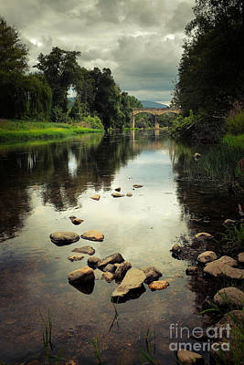 Rural Scenery Photograph - River Landscape by Carlos Caetano