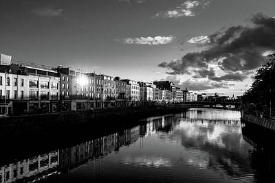 Photograph - River Liffey by Jose Maciel