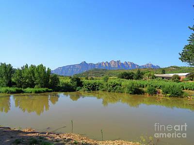 Photograph - River Llobregat In Summer 2 by Don Pedro De Gracia