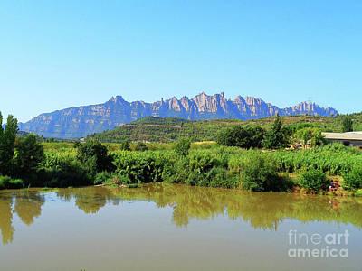Photograph - River Llobregat In Summer 3 by Don Pedro De Gracia