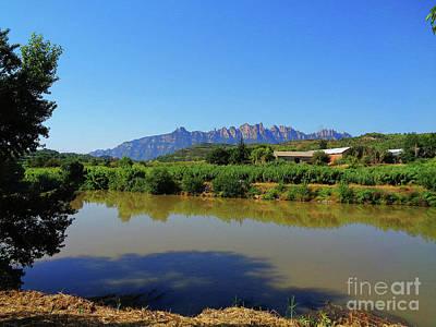 Photograph - River Llobregat In Summer  by Don Pedro De Gracia