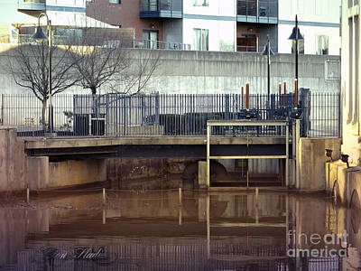 Photograph - River Locks by Melissa Messick
