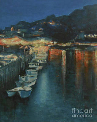 Painting - River Looe by Jane See
