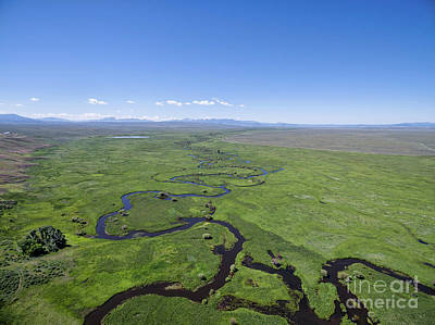 Arapaho National Wildlife Refuge Photograph - River Meanders In A Mountain Valley by Marek Uliasz
