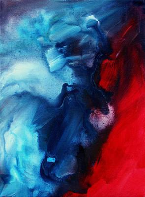 River Of Dreams 3 By Madart Art Print by Megan Duncanson