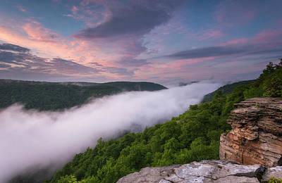 Blackwater Canyon Photograph - River Of Fog by Martin Radigan