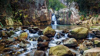 Photograph - River Of Honey Waterfall Algeciras Cadiz Spain by Pablo Avanzini