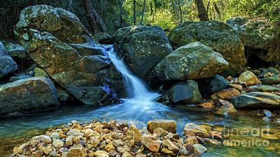 Photograph - River Of Honey White Water Algeciras Cadiz Spain by Pablo Avanzini