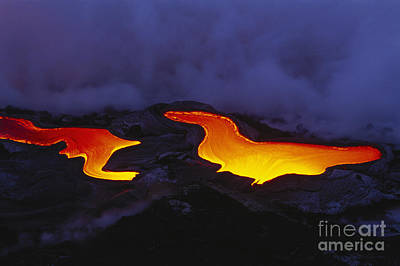Photograph - River Of Lava by Peter French - Printscapes