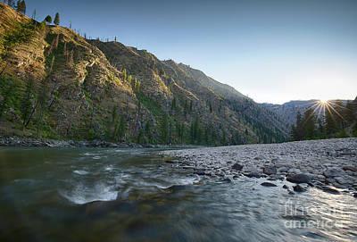 River Of No Return Art Print by Idaho Scenic Images Linda Lantzy