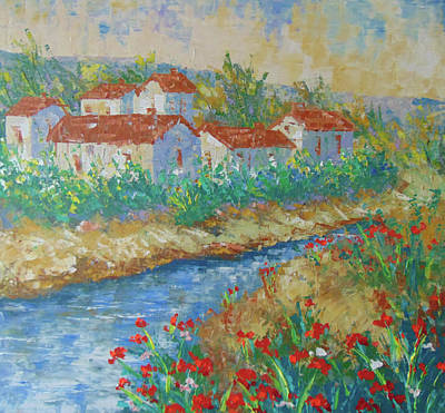 River Of Provence Original by Frederic Payet
