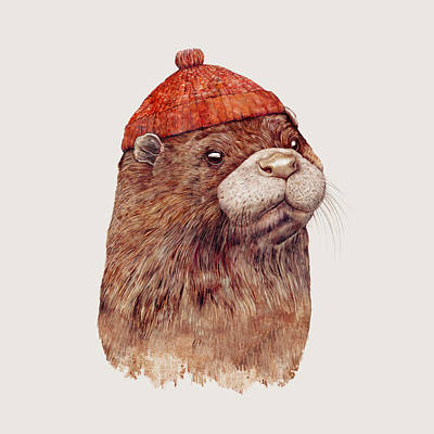 Animal Painting - River Otter by Animal Crew