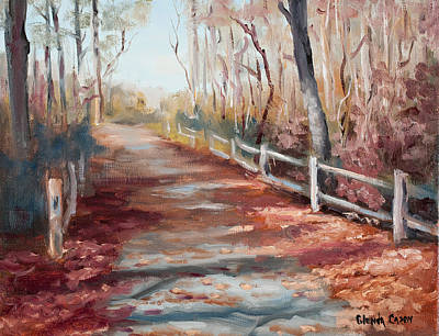 Painting - River Path by Glenda Cason