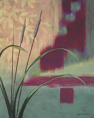 Abstract Painting - River Plant  by Herb Dickinson