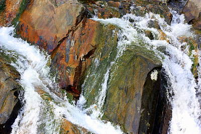 Photograph - River Power Dashed Upon The Rocks by Susie Weaver