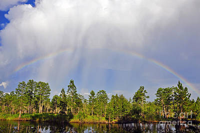 Photograph - River Rainbow by Al Powell Photography USA