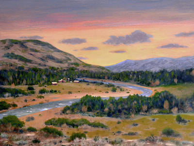 Scottsdale Painting - River Ranch by Gordon Beck