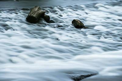 Pyrography - River Rapids by Douglas Milligan