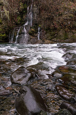 Photograph - River Rapids by Steven Clark