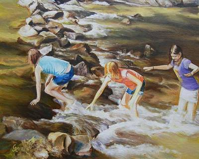 River Rats Art Print by George Kramer