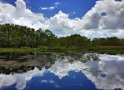 Photograph - River Reflections  by Juan Montalvo