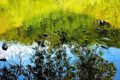 Photograph - River Reflections by Kathi Isserman