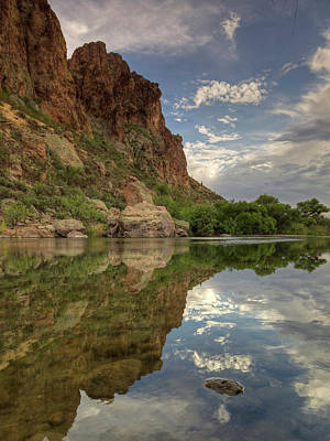 Photograph - River Reflections by Sue Cullumber