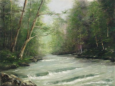 Painting - River Retreat by Cathy Robertson