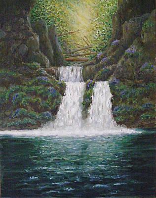 River Reverie Art Print by Deborah Dallinga