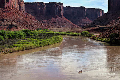 Photograph - River Ride by Jim Garrison