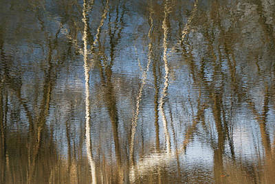 Photograph - River Ripples 4 by Tana Reiff