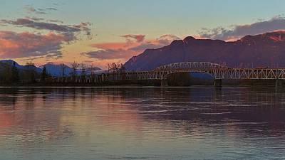 Fraser River, British Columbia Art Print