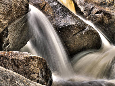 Photograph - River Rock Wash by Kevin Munro