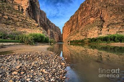 Photograph - River Rocks At Santa Elena by Adam Jewell