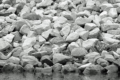 Photograph - River Rocks No. 5-1 by Sandy Taylor