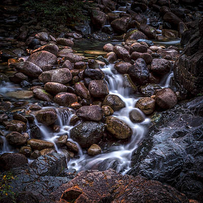 Photograph - River Rocks by Rod Sterling