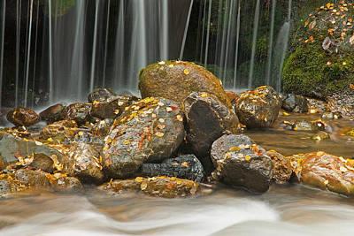 Photograph - River Rocks by Scott Read