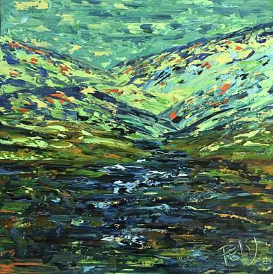 Painting - River Run by Felicia Weinstein
