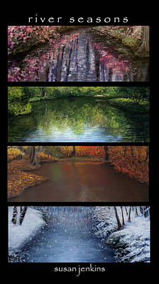 Pastel - River Seasons by Susan Jenkins