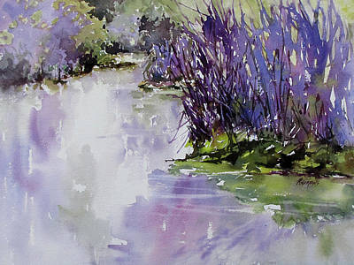Painting - River Seduction by Rae Andrews